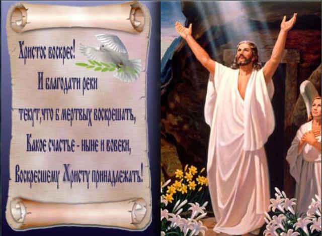 Христос Воскрес! Пасха Христова