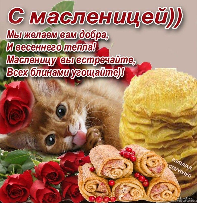 Поздравления с Масленицей Масленица