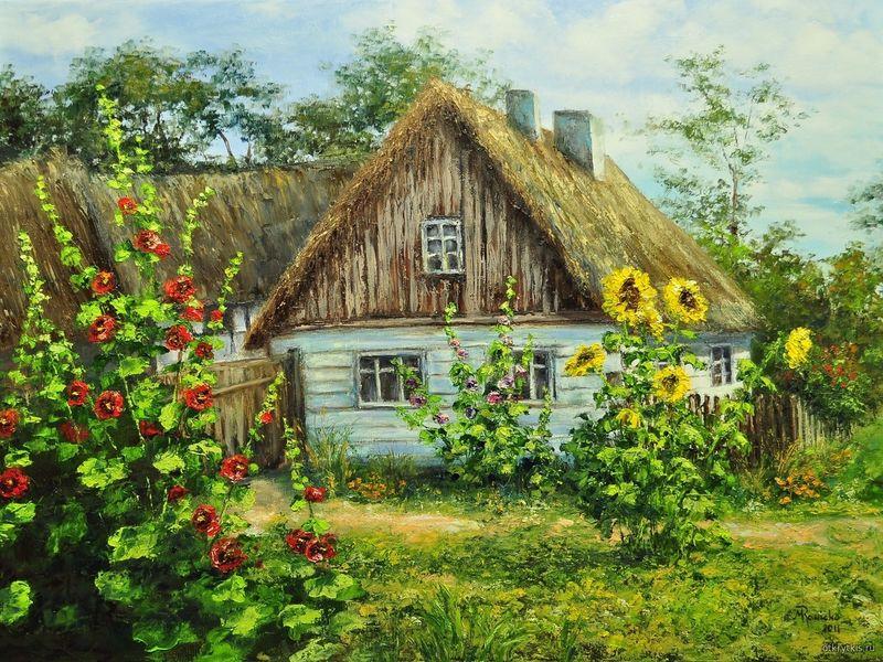 Хорошо в деревне летом Летние